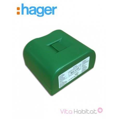 HAGER Pile lithium 2 x 3,6 V / 36 Ah - BATLi23 - Hager Logisty