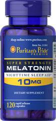 mélatonine 10 mg - 120 capsules