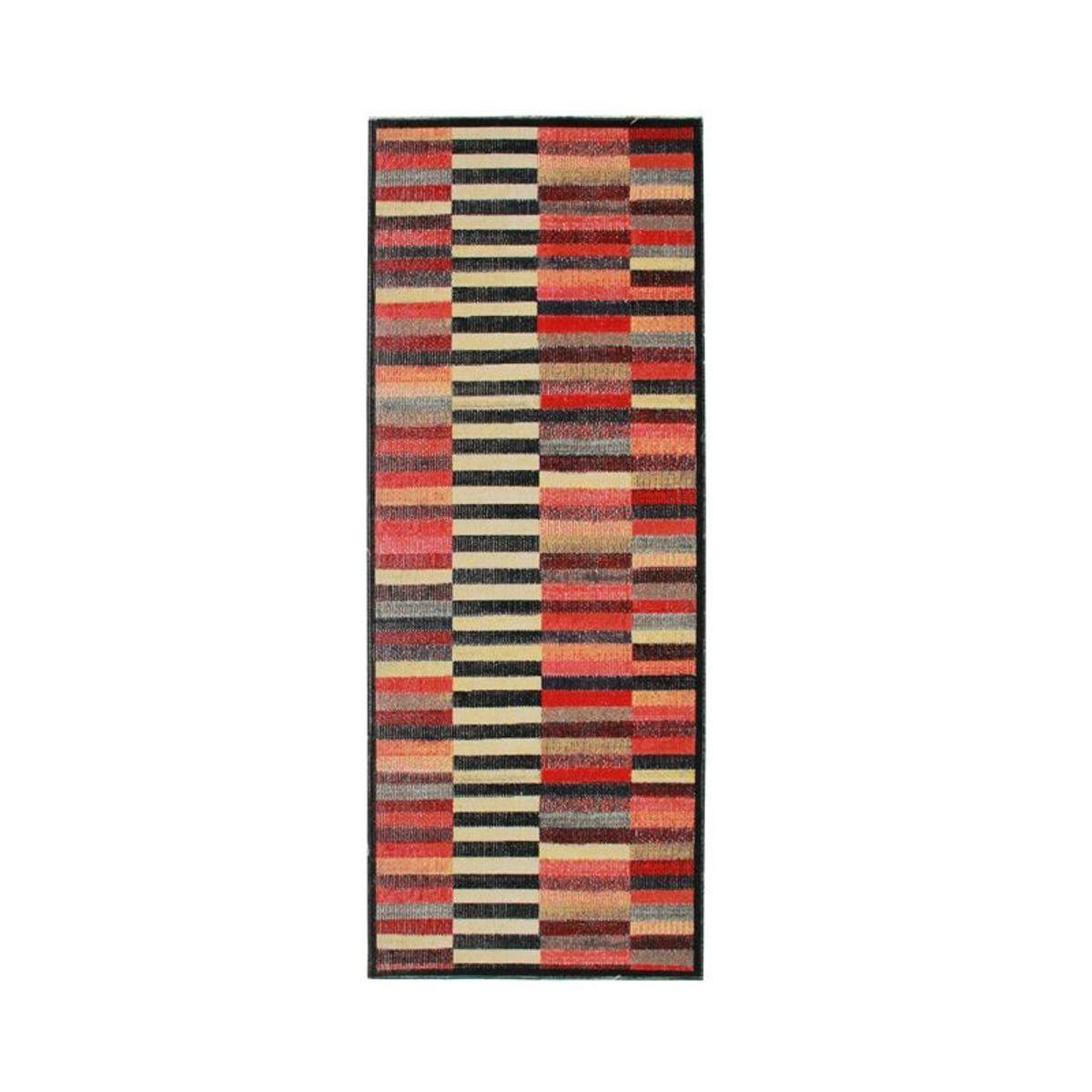 TheDecoFactory VINTAGE IN&OUT; - Tapis pour intérieur-extérieur lignes multi 80x200 Multicolore