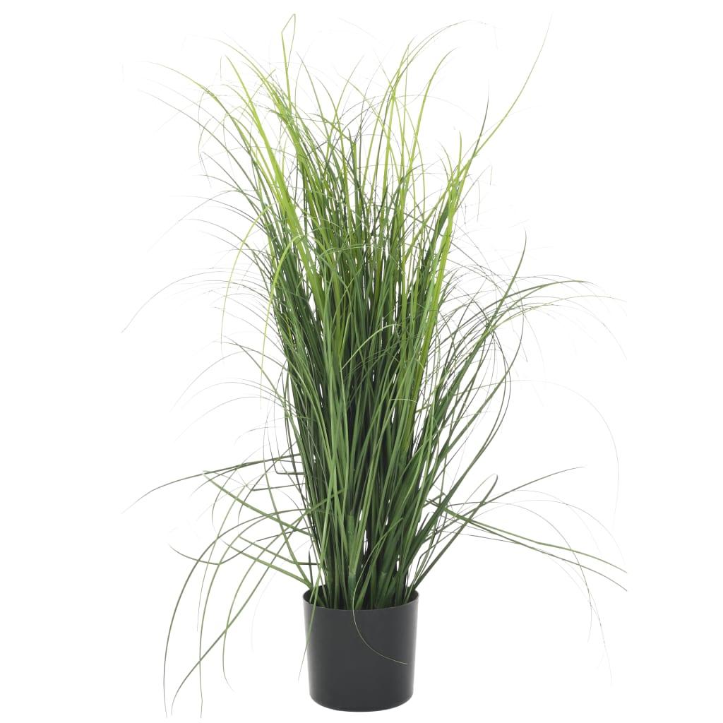 vidaXL Plante artificielle à herbe Vert 80 cm