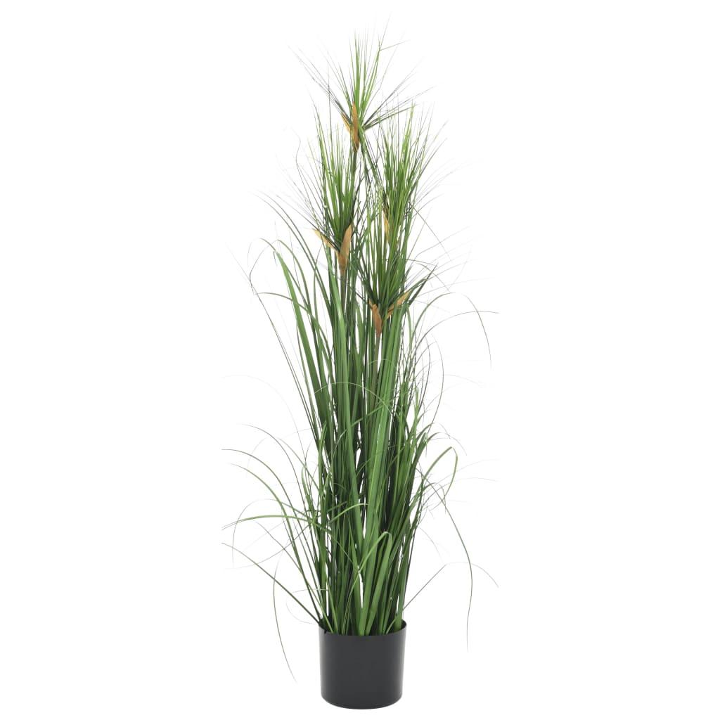 vidaXL Plante artificielle à herbe 120 cm