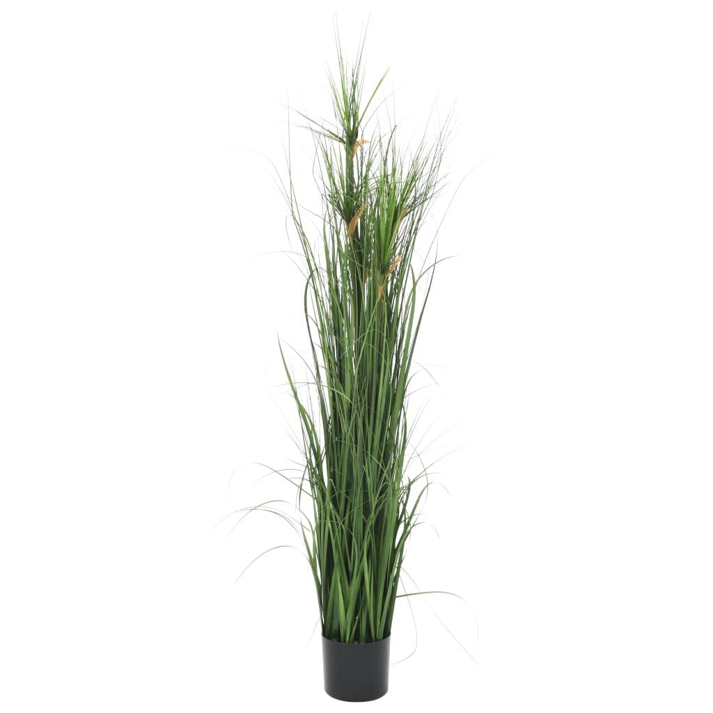 vidaXL Plante artificielle à herbe 140 cm