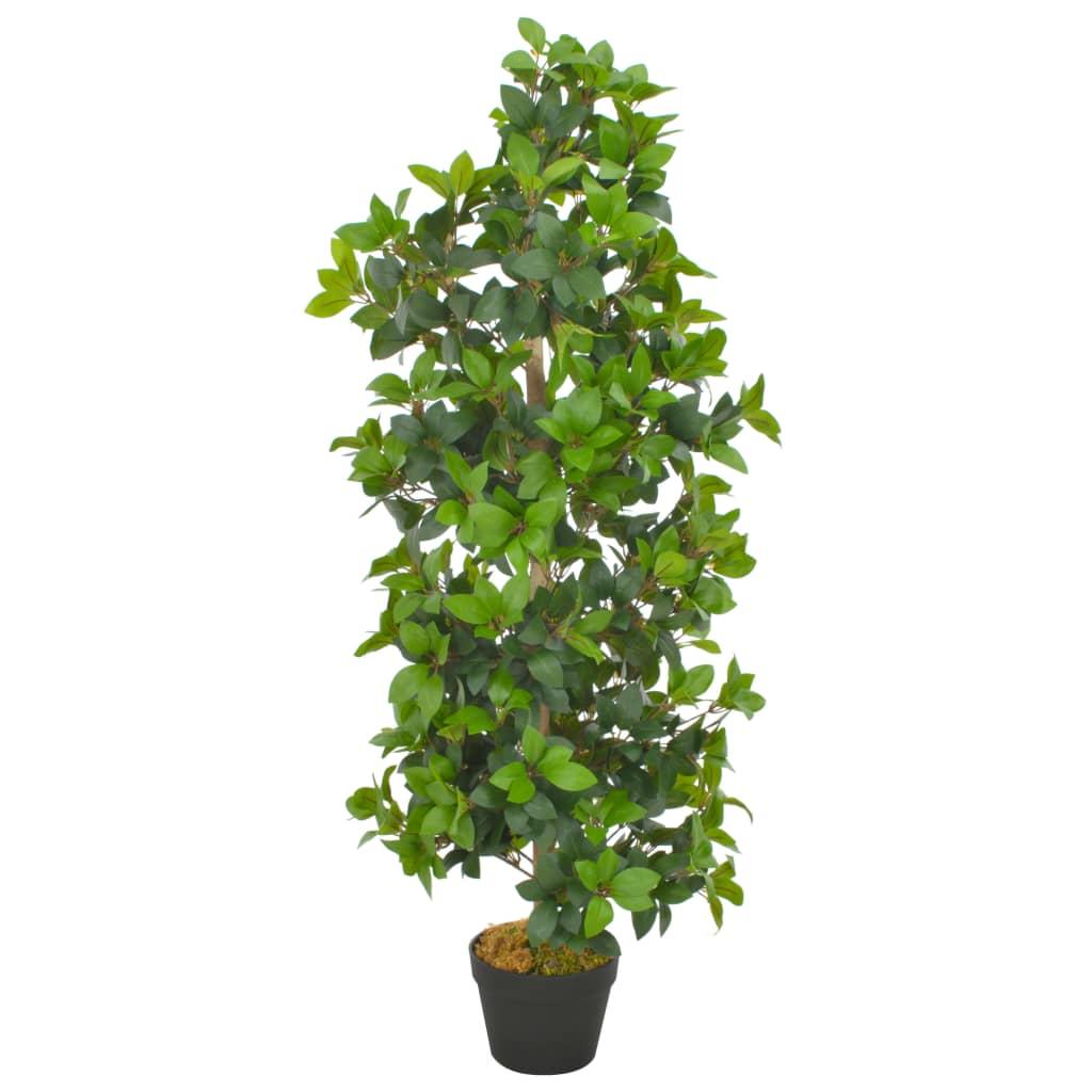 vidaXL Plante artificielle avec pot Laurier Vert 120 cm