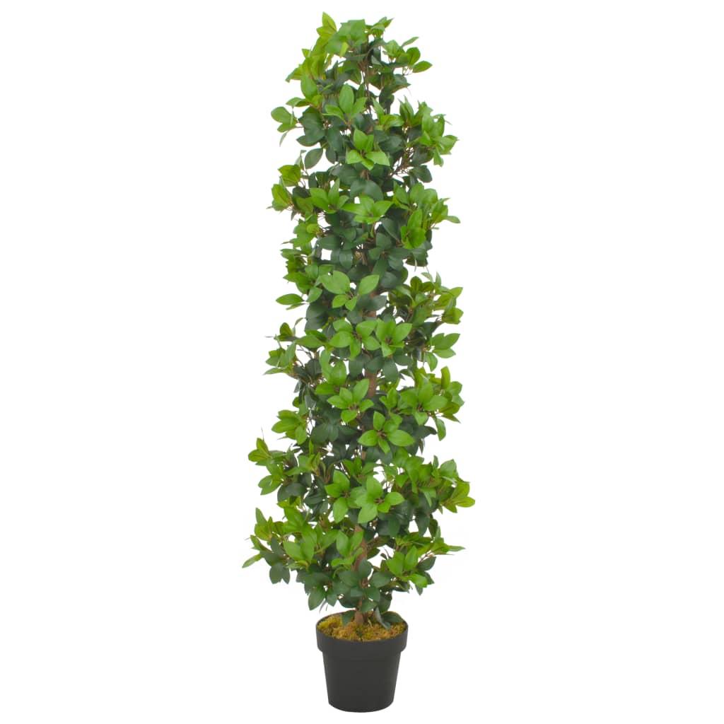 vidaXL Plante artificielle avec pot Laurier Vert 150 cm