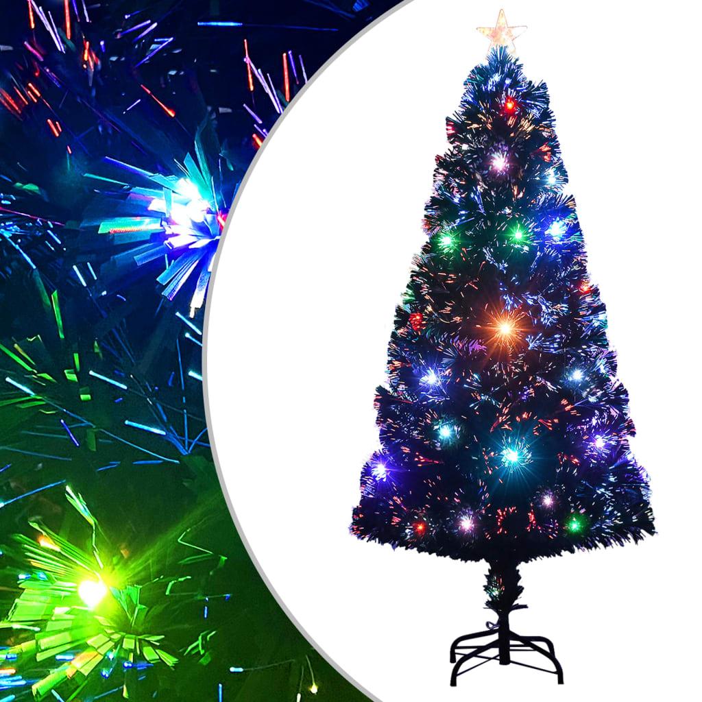 vidaXL Arbre de Noël artificiel et support/LED 120 cm 135 branches