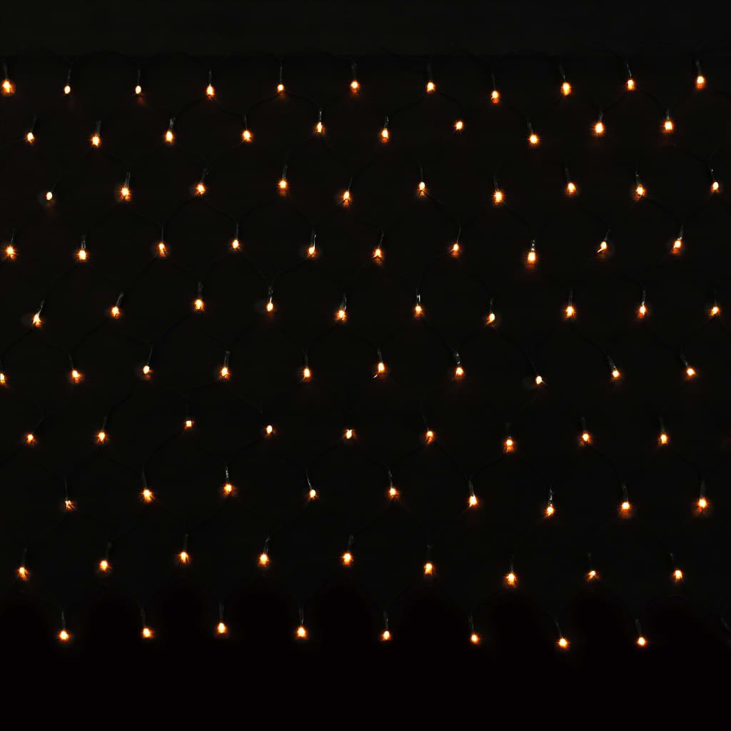 vidaXL Guirlande lumineuse LED d'intérieur/d'extérieur IP44 230x110 cm
