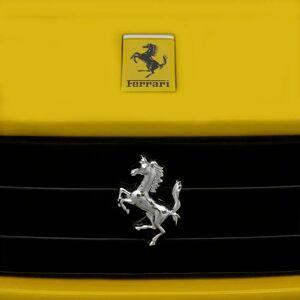 vidaXL Voiture de course Ferrari F12 Jaune 6 V avec télécommande