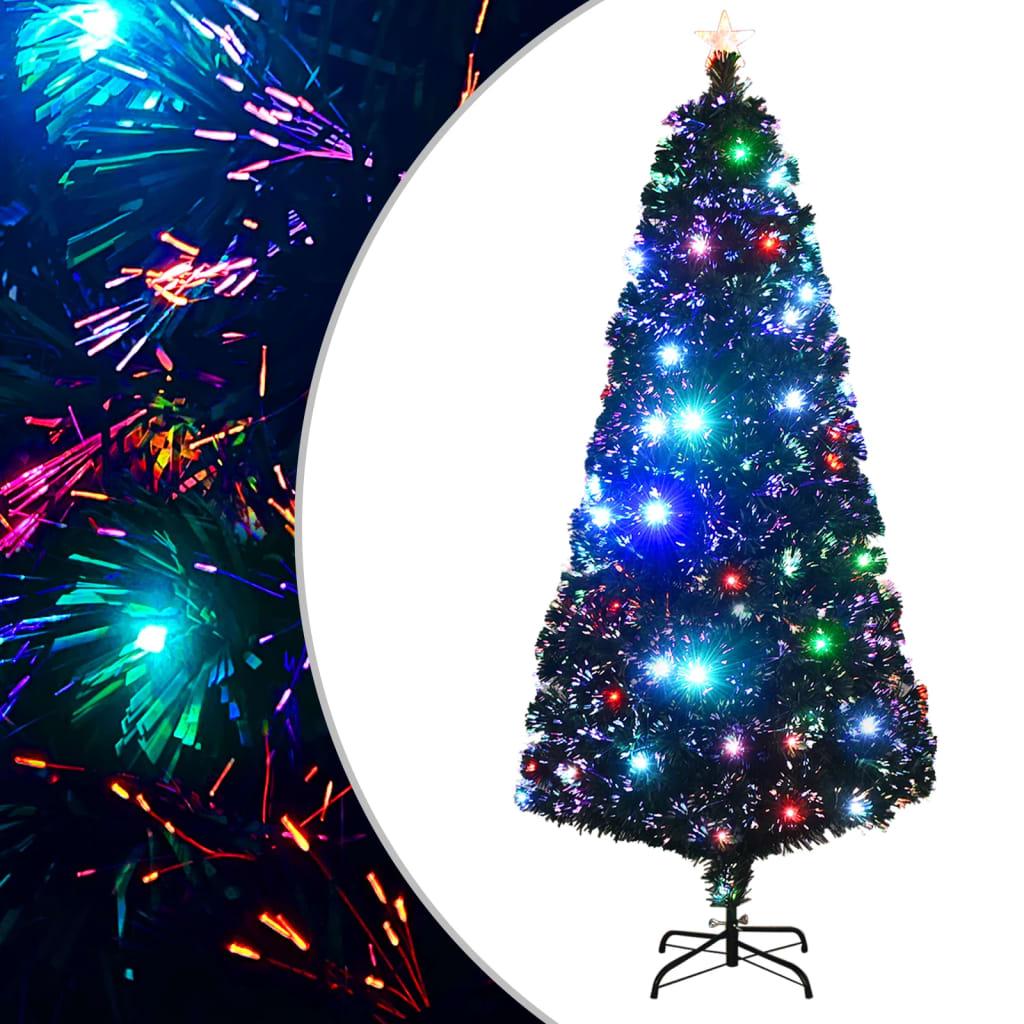 vidaXL Arbre de Noël artificiel et support/LED 180 cm 220 branches
