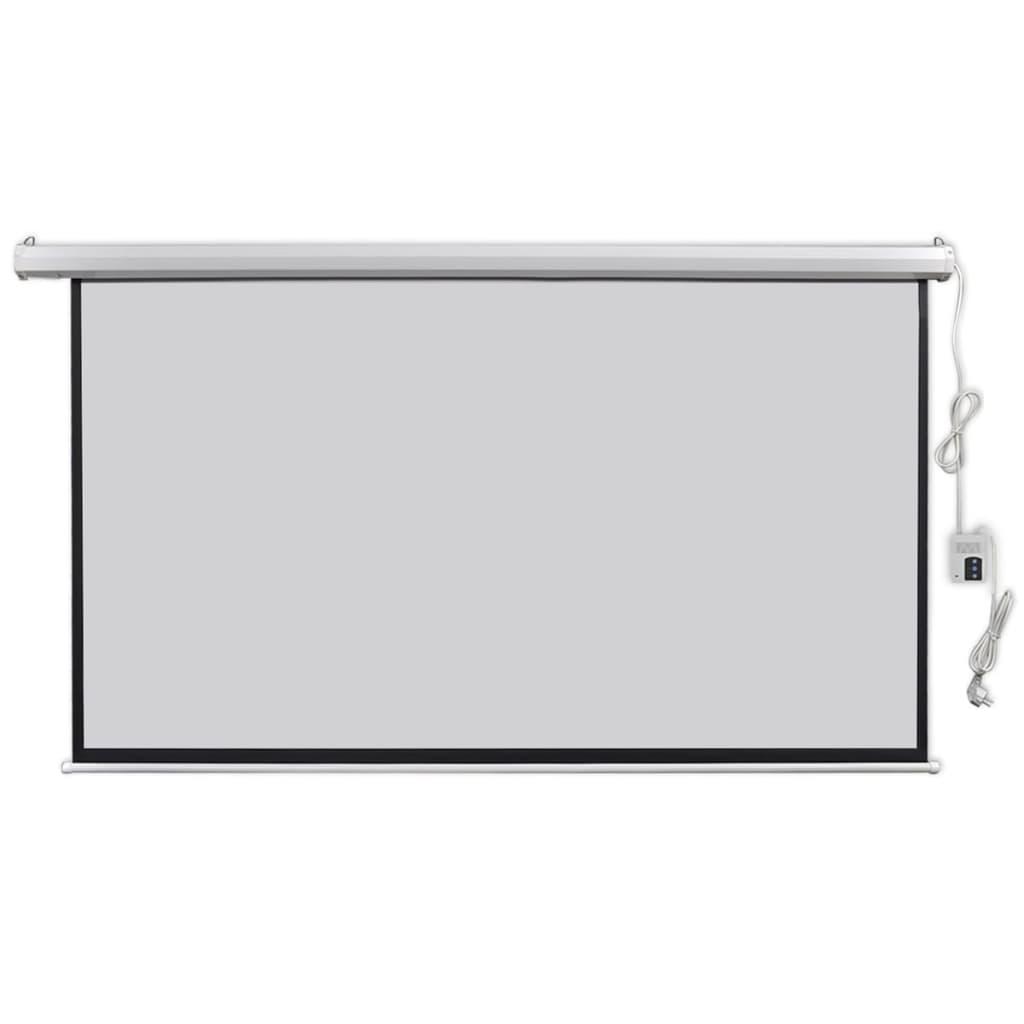 vidaXL Écran de projection électrique avec télécommande 200x113 cm 16:9