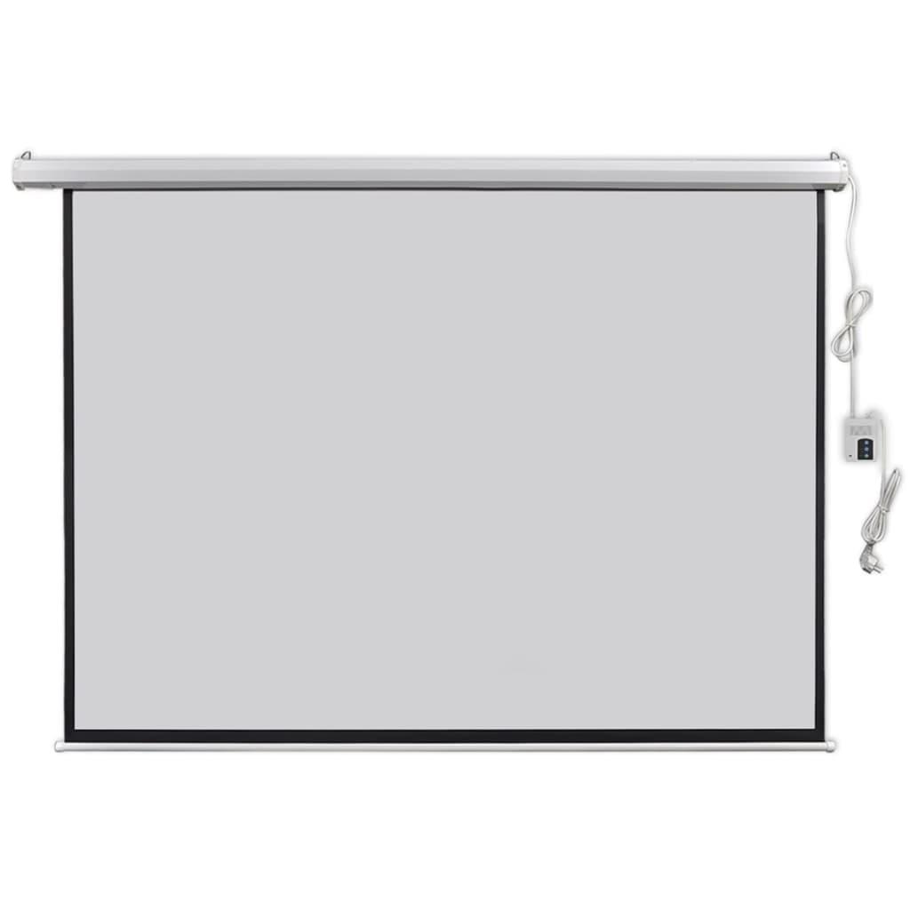vidaXL Écran de projection électrique avec télécommande 200x153 cm 4:3