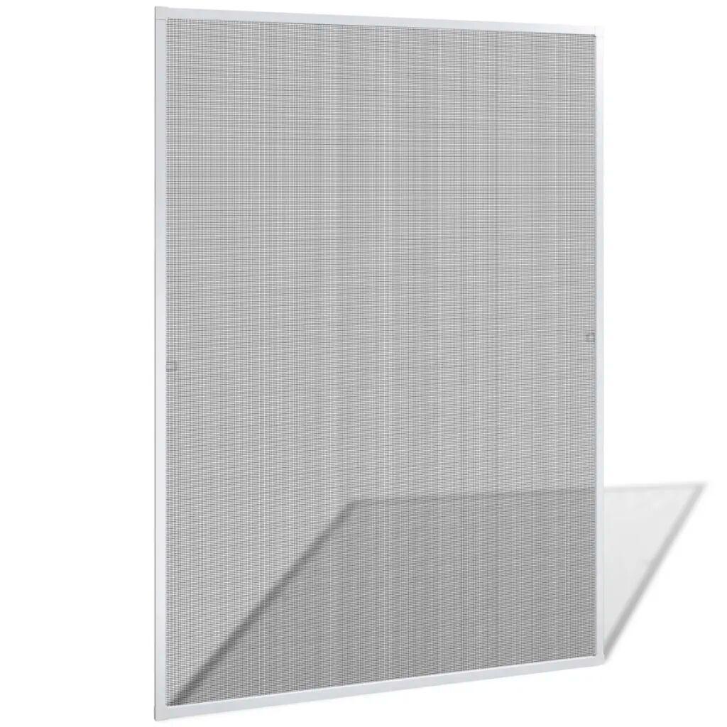 vidaXL Moustiquaire de fenêtre blanc contre insecte