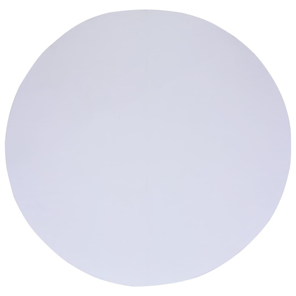 vidaXL Bâche de sol de piscine Blanc 360 cm Géotextile