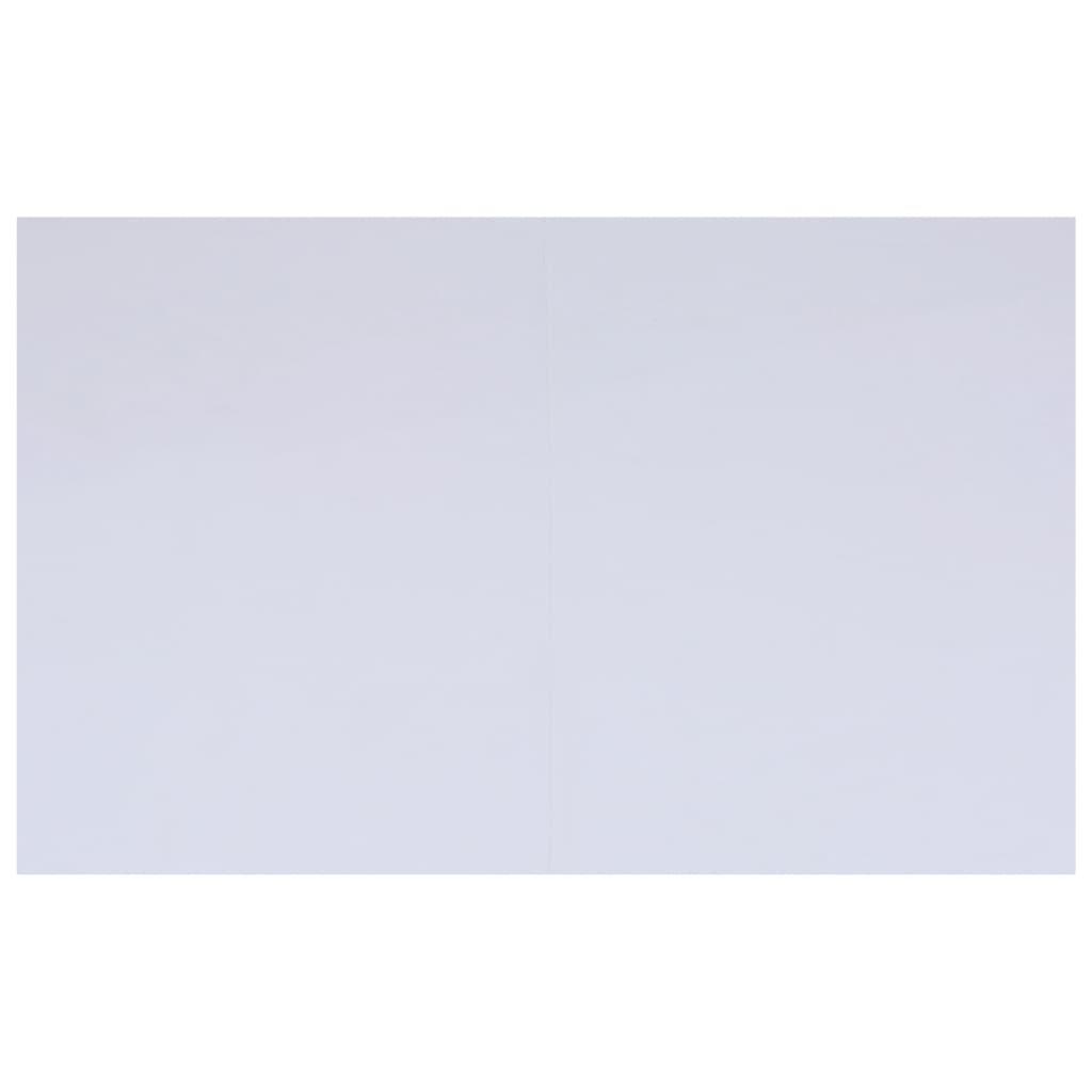 vidaXL Bâche de sol de piscine Blanc 490x360 cm Géotextile