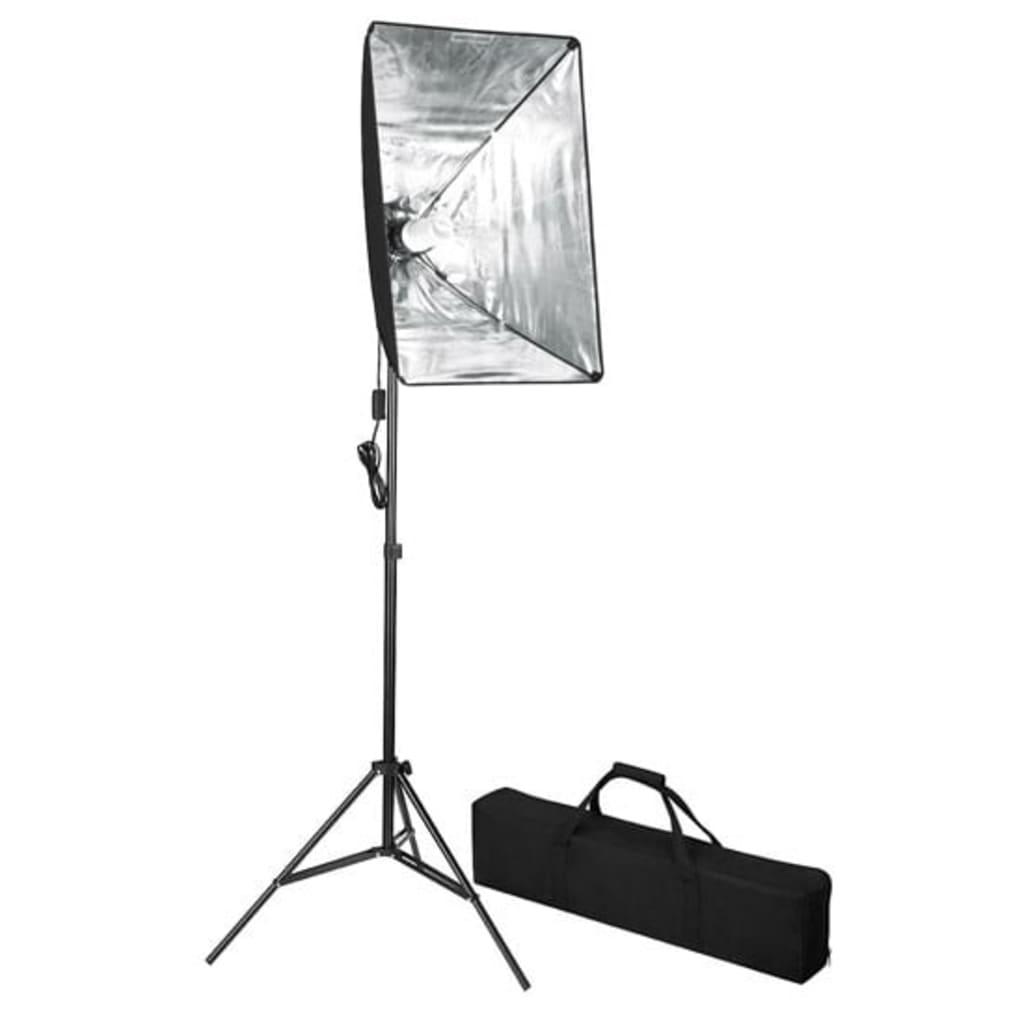 vidaXL Lampe de photo studio avec diffuseur softbox 60 x 40 cm