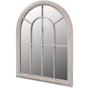 vidaXL Miroir de jardin d'arche rustique 69x89 cm Intérieur/extérieur - Publicité
