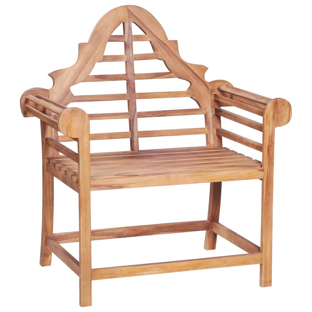 vidaXL Chaise de jardin 89x63x102 cm Teck solide