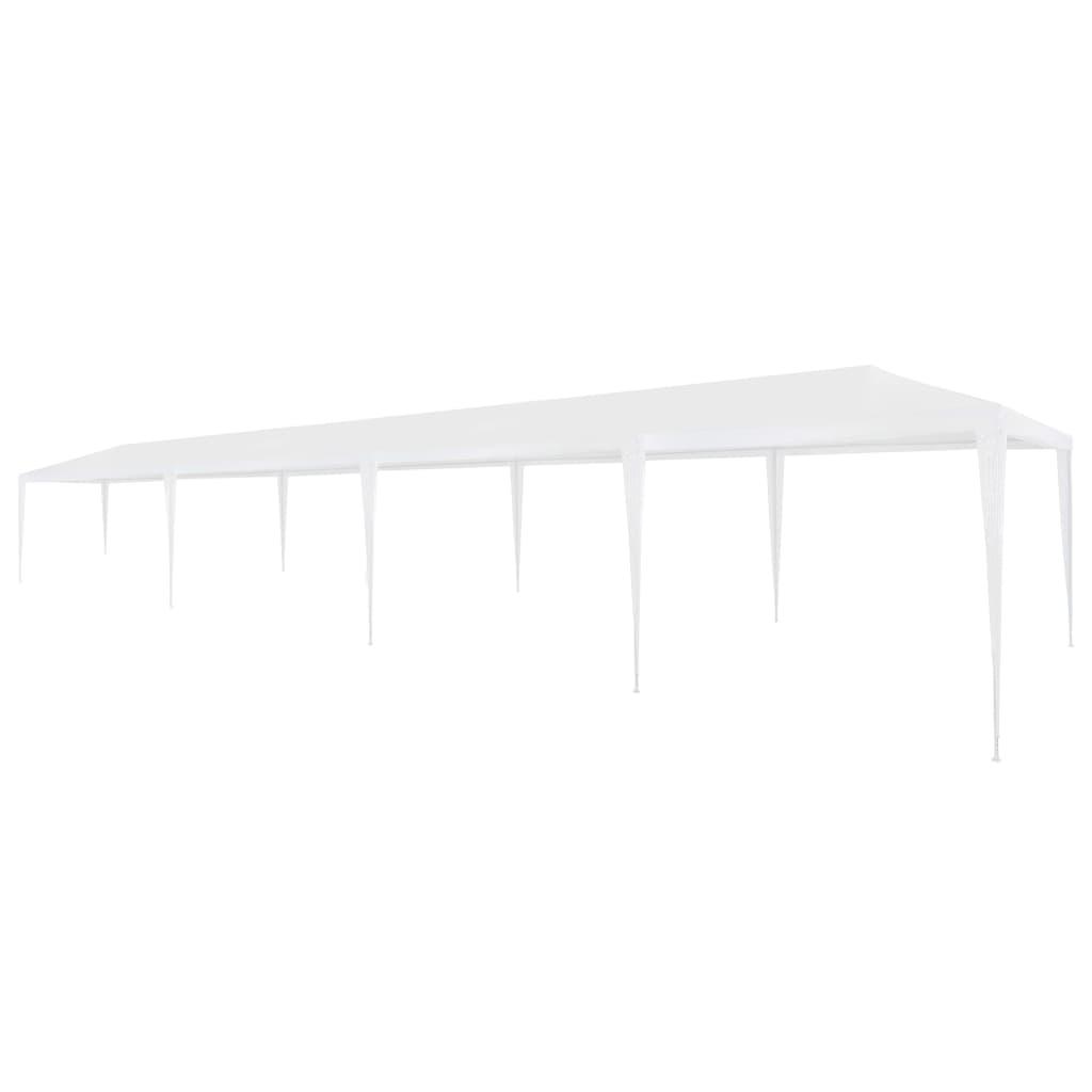 vidaXL Tente de réception 3 x 12 m PE Blanc
