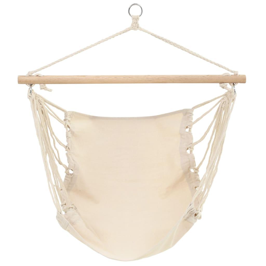 vidaXL Hamac chaise 100 x 80 cm beige