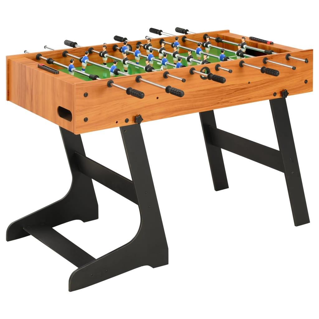 vidaXL Table de football pliante...