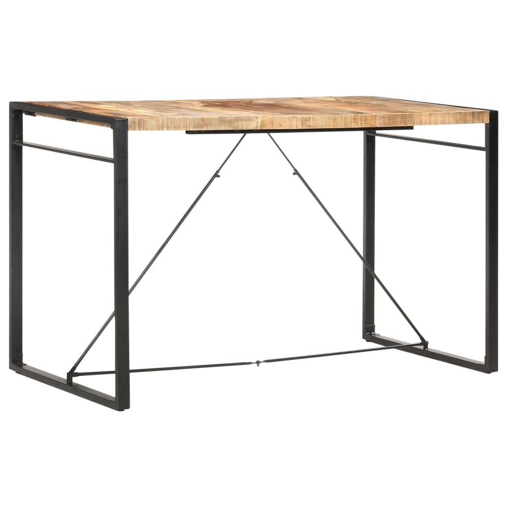 vidaXL Table de bar 180x90x110 cm Bois de manguier massif