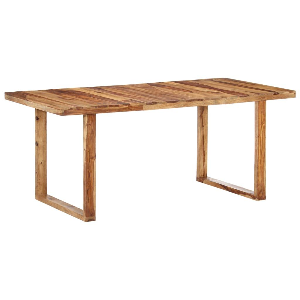 vidaXL Table de salle à manger 180x90x76 cm Bois solide