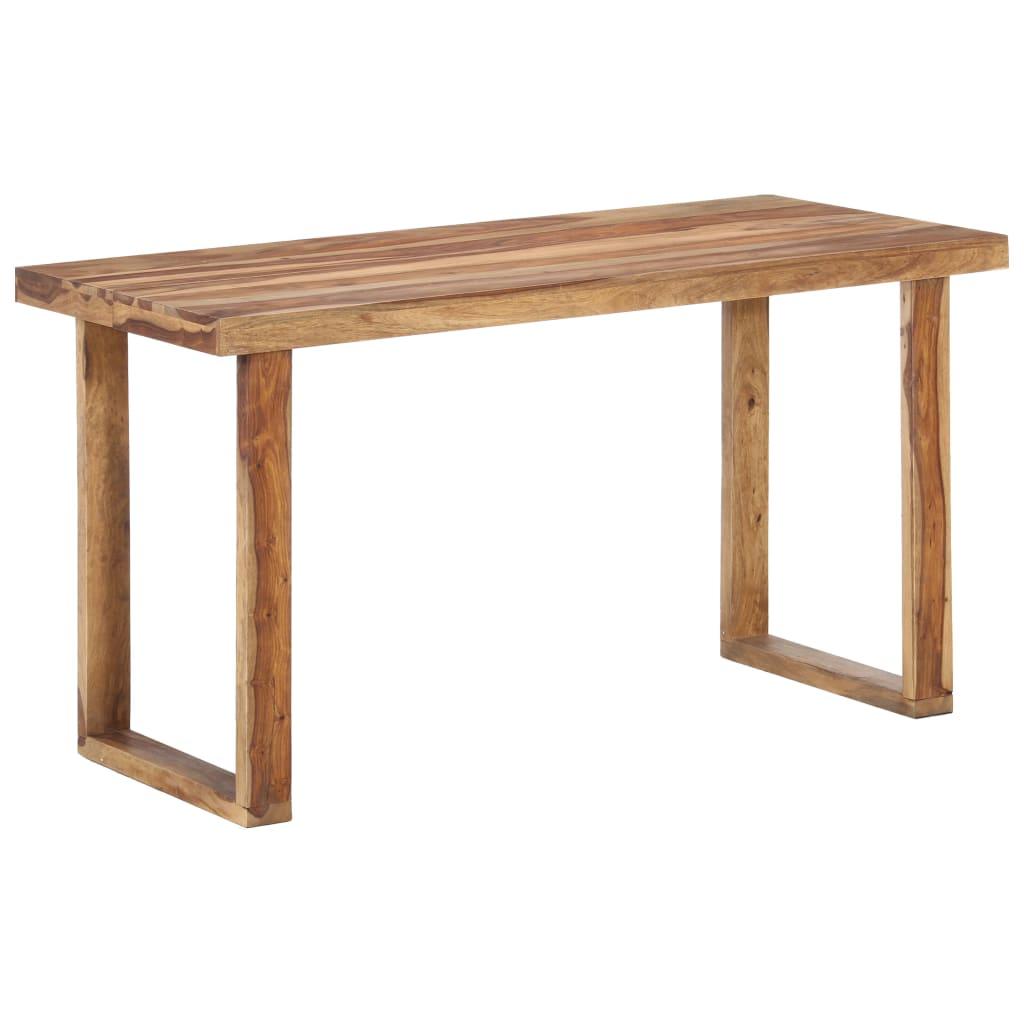 vidaXL Table de salle à manger 140x70x76 cm Bois solide