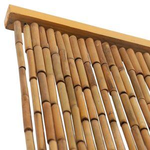 vidaXL Rideau de porte contre insectes Bambou 100 x 200 cm - Publicité
