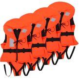 vidaXL Aide à la flottabilité pour enfants 4 pcs 100 N 10-20 kg