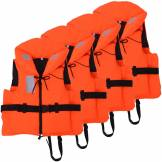 vidaXL Aide à la flottabilité 4 pcs 100 N 30-40 kg