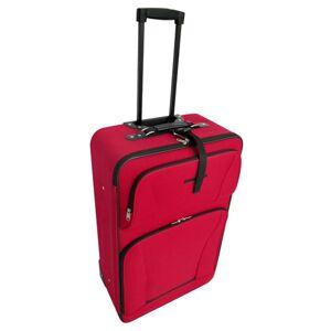 vidaXL Set de valises rouges 5 pièces - Publicité
