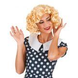Perruque blonde starlette femme Taille Unique