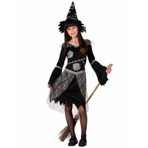 Deguisetoi Déguisement sorcière épouvantail fille - Taille: 5-6 ans (115/130 cm) - Publicité