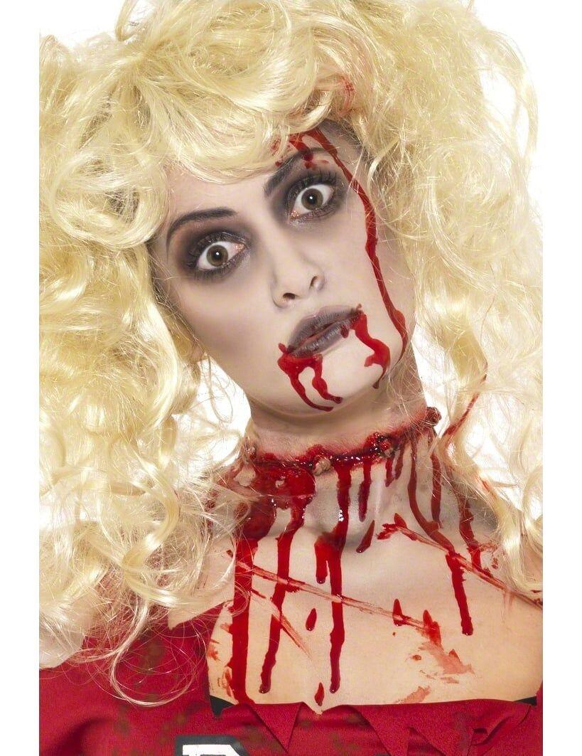 Deguisetoi Kit maquillage zombie femme Halloween