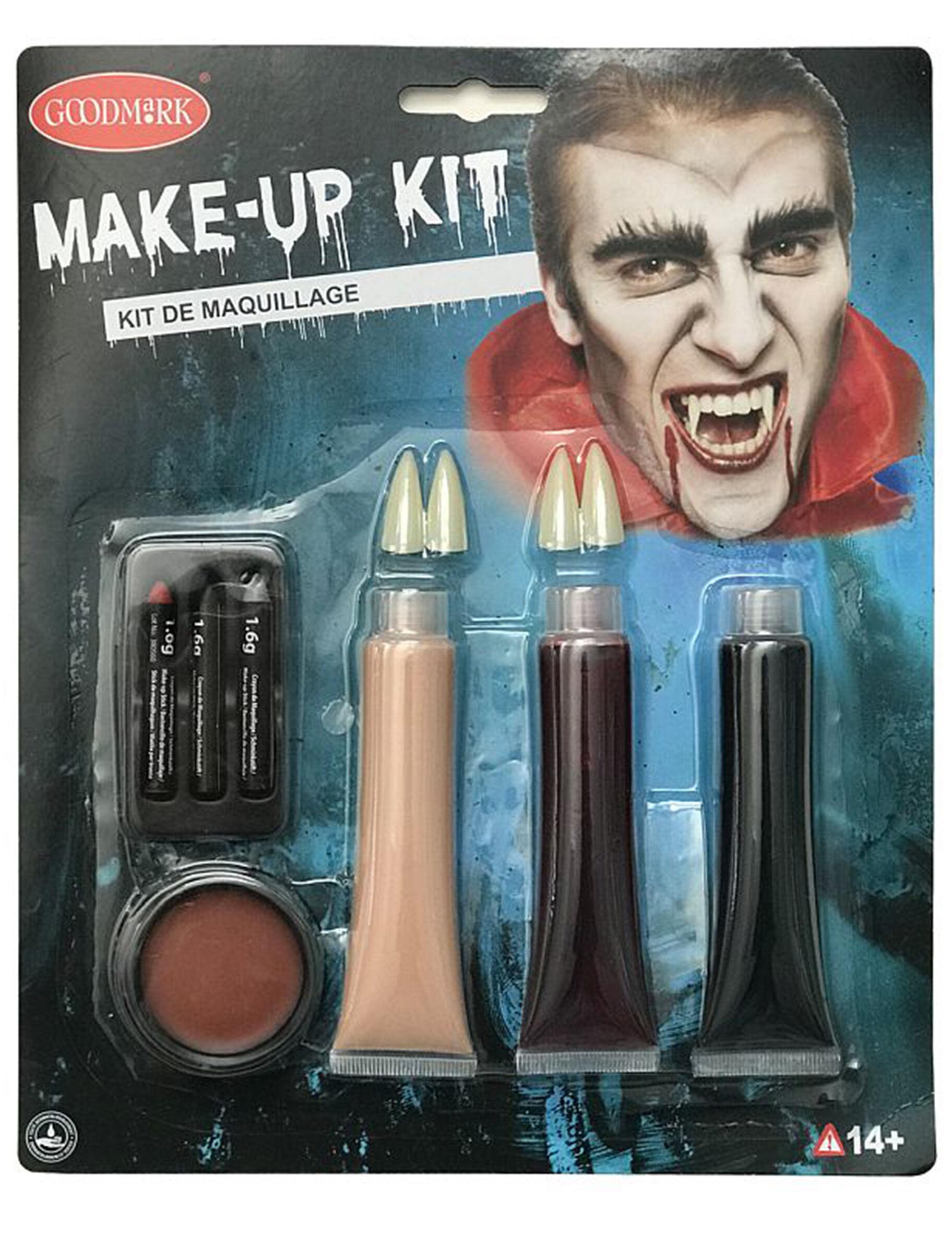 Deguisetoi Kit luxe maquillage vampire Halloween