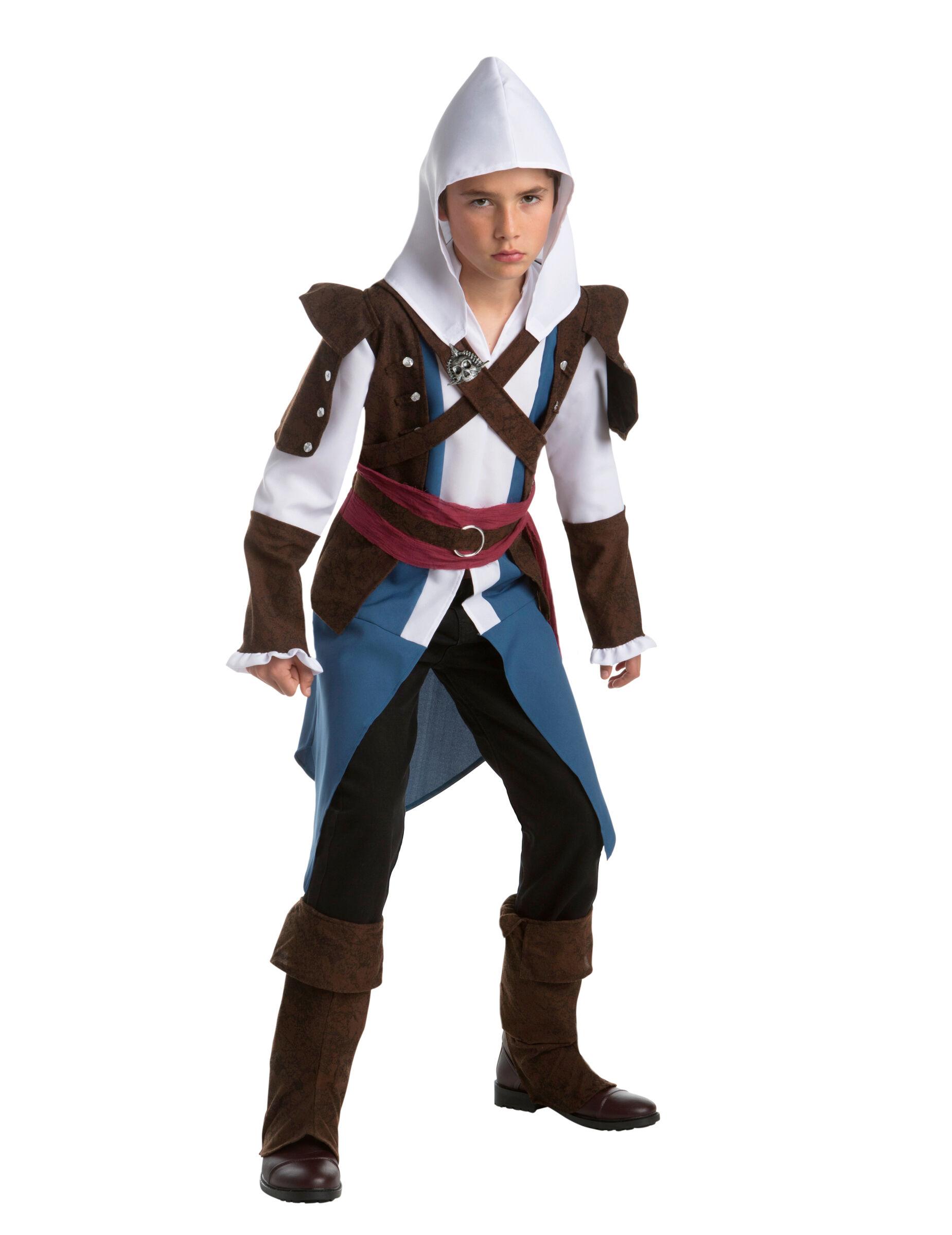 Deguisetoi Déguisement Edward classique Edward - Assassin's creedAdolescent - Taille: 12-14 ans (164 cm)