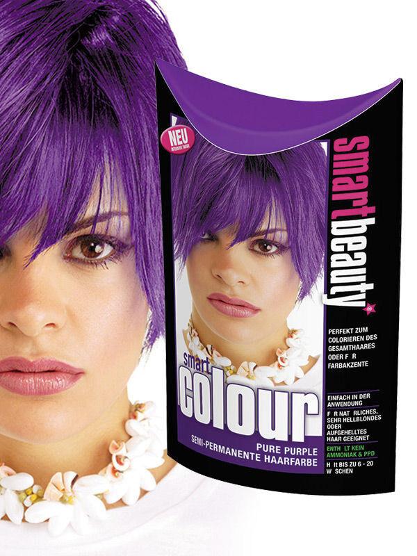 Deguisetoi Teinture Smart Beauty pour cheveux violette semi-permanente