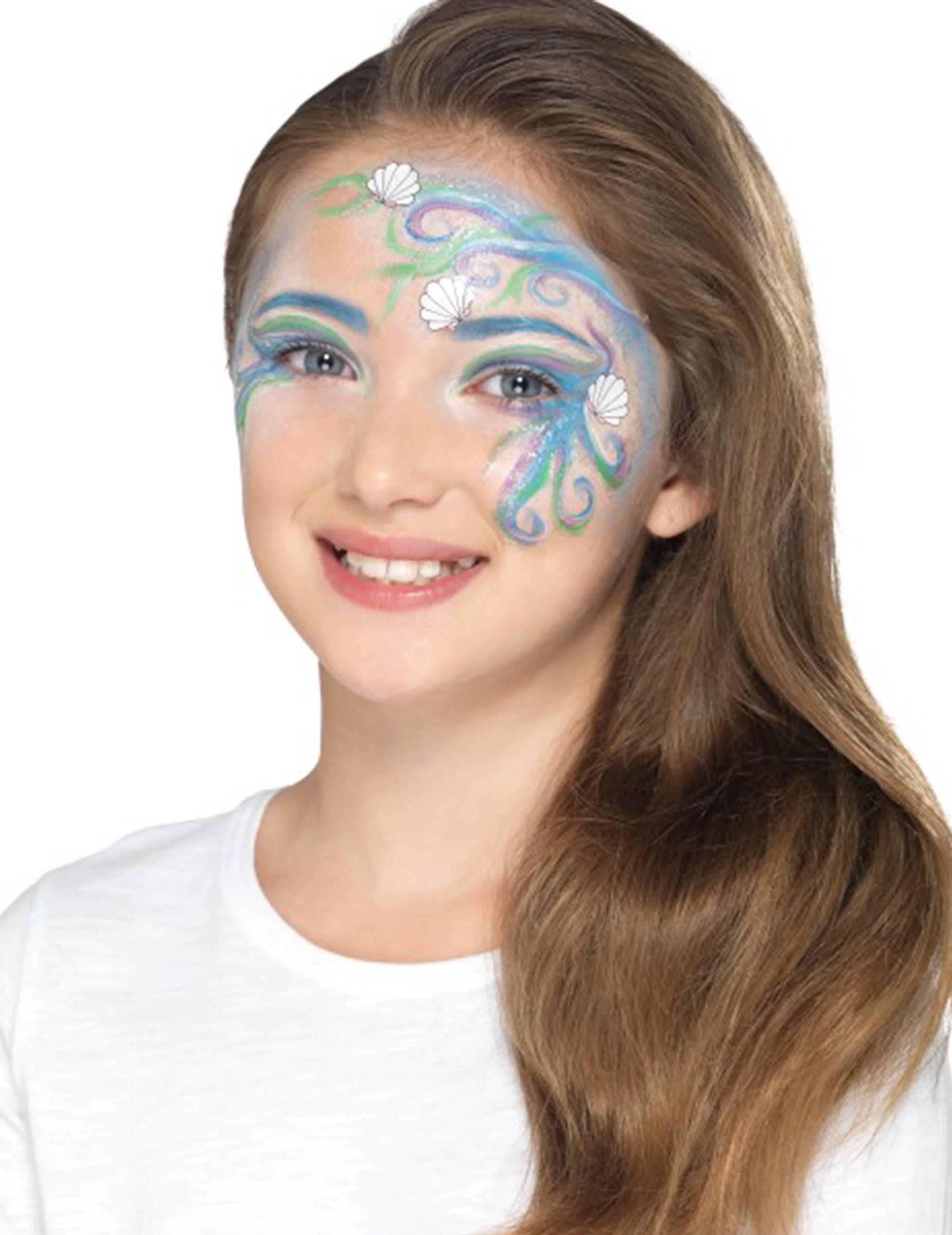 Deguisetoi Kit maquillage sirène des mers enfant