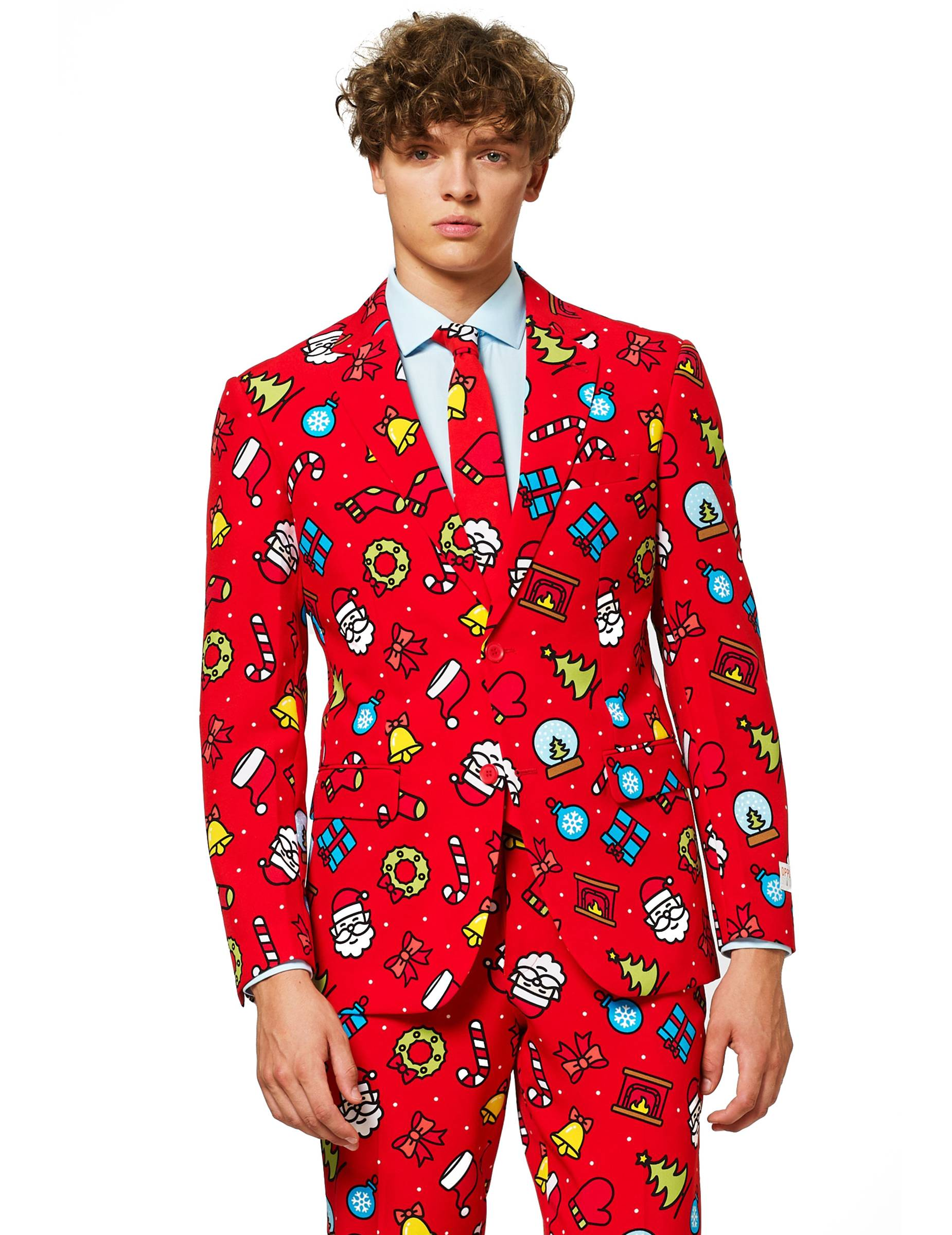 Deguisetoi Costume Mr. Dapper decorator homme Opposuits - Taille: L (EU 54)