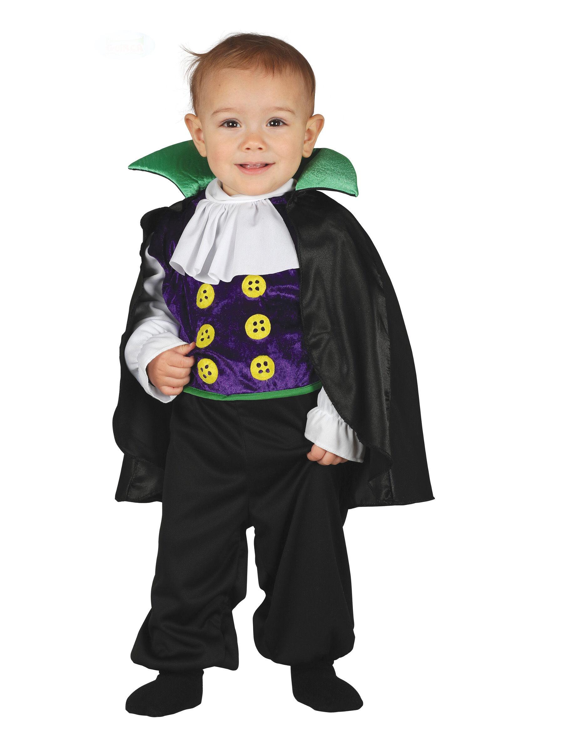 Deguisetoi Déguisement combinaison petit comte vampire bébé - Taille: 1 à 2 ans (92-93 cm)