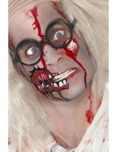 Kit maquillage zombie réaliste adulte Halloween TAILLE UNIQUE