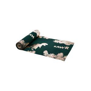 Deguisetoi Chemin de table en lin vert et or dinosaure 28 cm x 5 m - Publicité