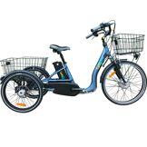 CYCLO2 Vélo électrique 3 roues 10Ah à différentiel démarrage 6km/h frein disque autonomie 50km