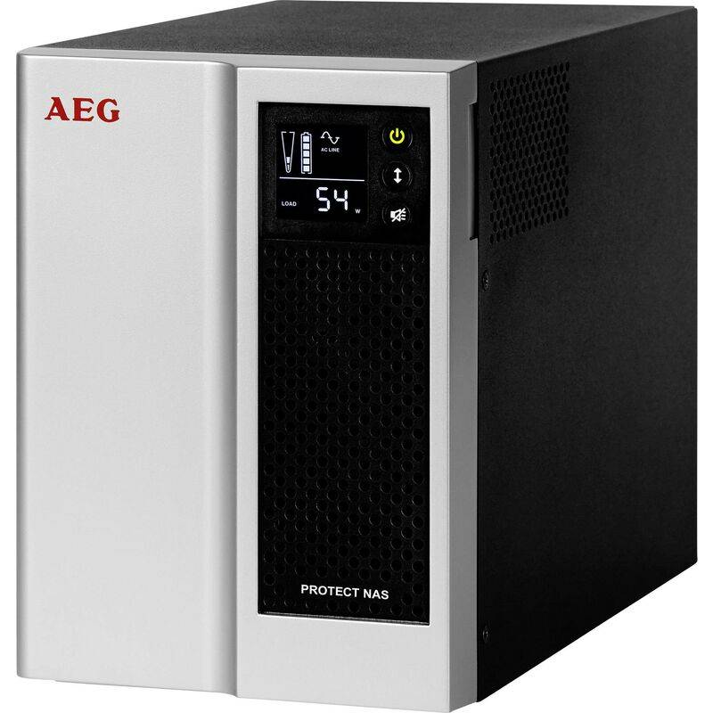 AEG POWER SOLUTIONS Onduleur (ASI) Protect NAS 500 VA Y004711 - Aeg Power Solutions