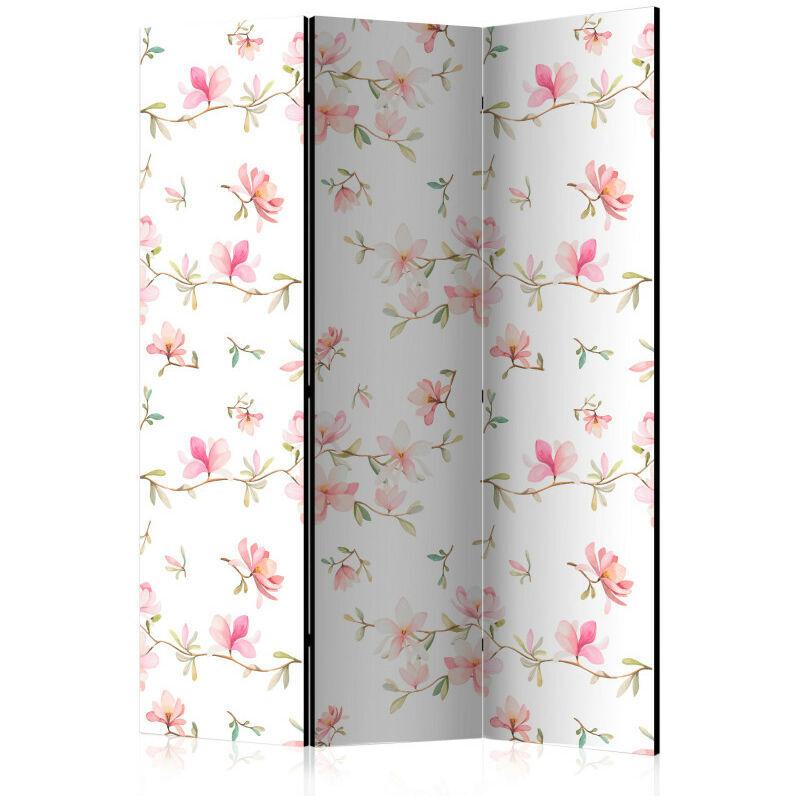 Artgeist - Paravent 3 volets - Fresh Magnolias [Room Dividers] 135x172