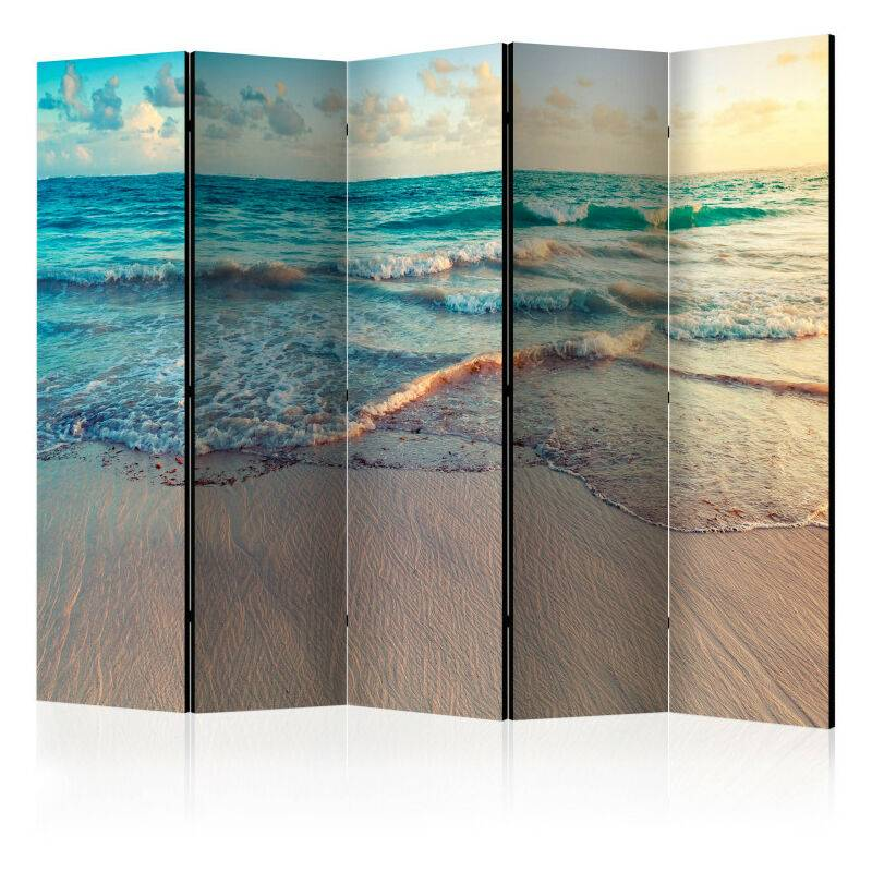 Artgeist - Paravent 5 volets - Beach in Punta Cana II [Room Dividers] 225x172