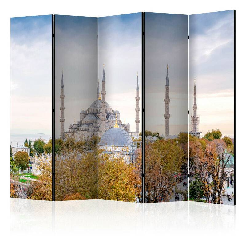 Artgeist - Paravent 5 volets - Hagia Sophia - Istanbul II [Room Dividers]