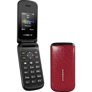 SWISSTONE Téléphone portable à clapet 1.7 pouces swisstone SC 330 rouge - Publicité