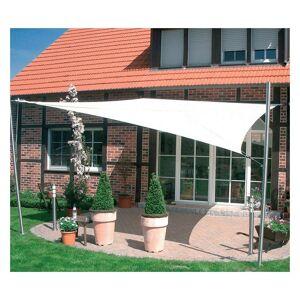 DIRECT FILET Voile d'ombrage imperméable de 4x3m à tendre   Terracotta - Publicité