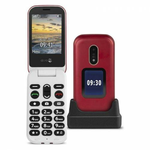 DORO Téléphone portable à clapet...