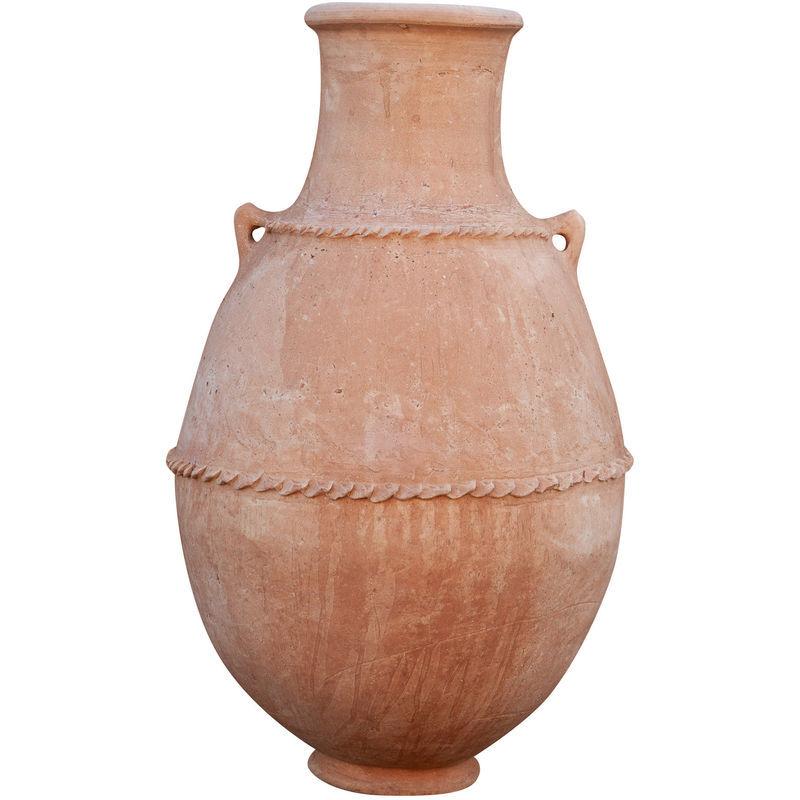 Biscottini - Amphore à anses traditionnelles en terre cuite du désert du Sahara